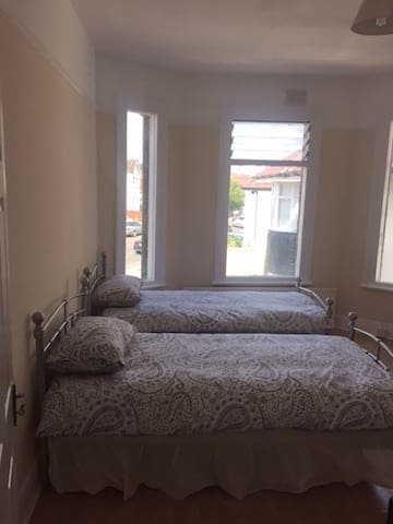 Fresh double bedroom available with king size bed
