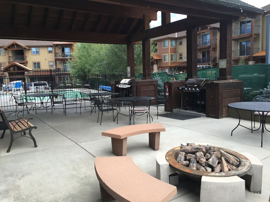 Grills and firepit