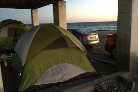 Camping Tents in Masirah Island - Oman - Tenda