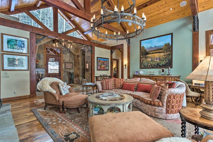 NEW! Luxury Ski-In/Ski-Out Telluride Mtn Retreat
