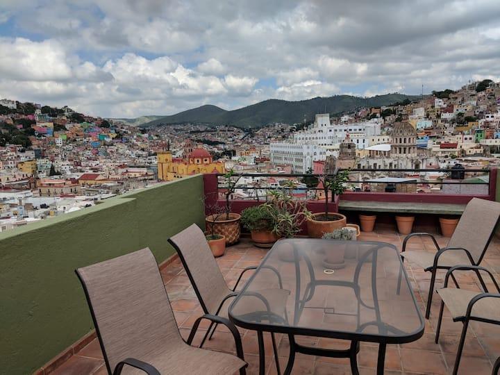 Casa Nimbus Guanajuato (City Views!)