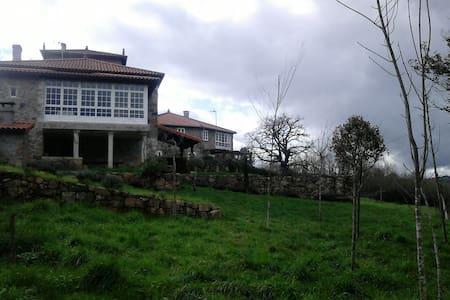 Casa rural de lujo con piscina - O Mato