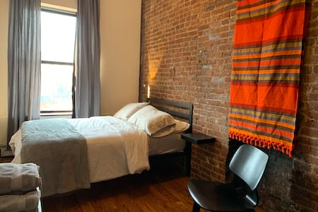 Enjoy the best of Harlem in this comfortable home