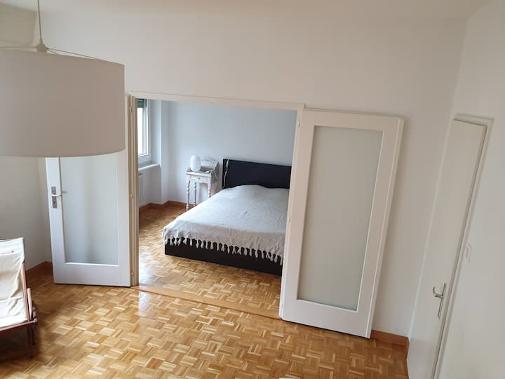 Two large rooms in City center (Servette)