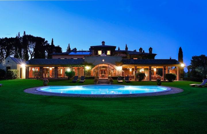 Luxury Villa close to Montepulciano