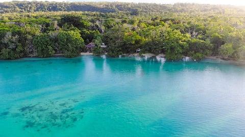 Matevulu Lodge 🌺 Beachfront Flaoa Bungalow