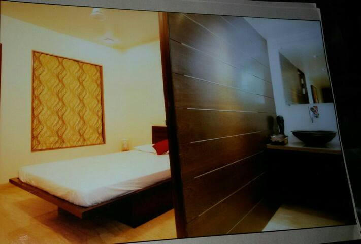 EN SUITE AC Room Koregaon park Annx - Pune - Huoneisto