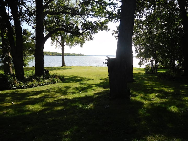 Camp Relax, WI on Lake Koshkonong
