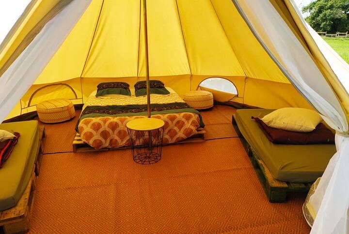 La FAMILY tente Lodge