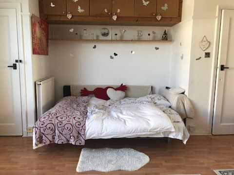 Warm and cosy studio flat, beautiful area,Highgate