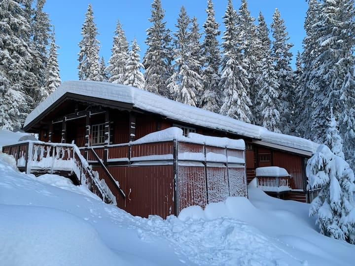 Koselig hytte i rolige omgivelser i Hafjell