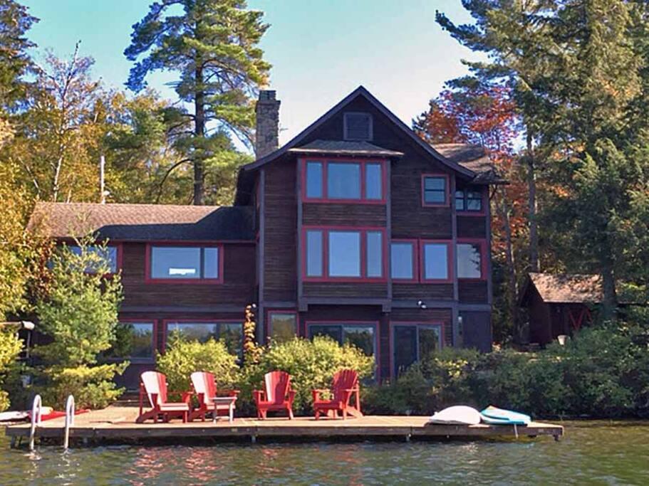 Lakeside Loj On Mirror Lake Houses For Rent In Lake
