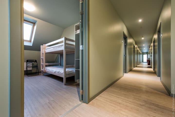 Hostel Sport Gent voor groepen vanaf 8 personen