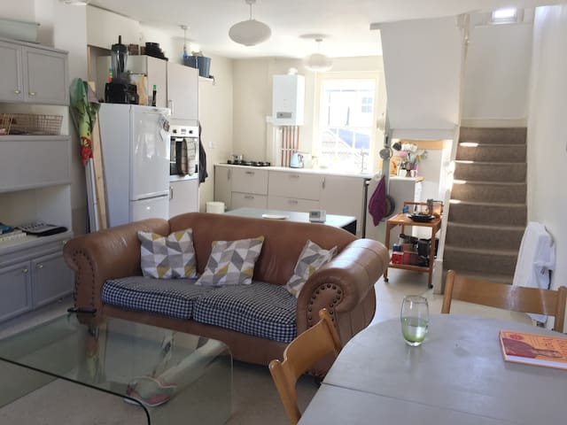 Totnes Town Centre. Bright and Spacious apartment