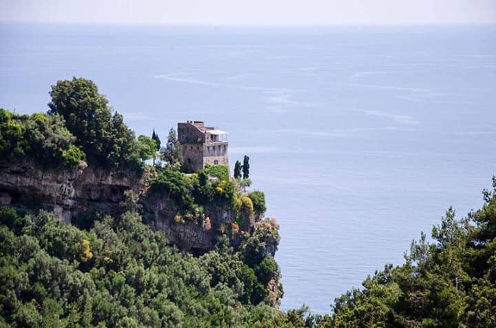 Torre, luxury villa in amalfi coast with pool