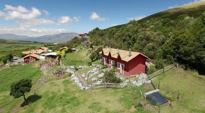 Cabaña at The secret Garden Cotopaxi