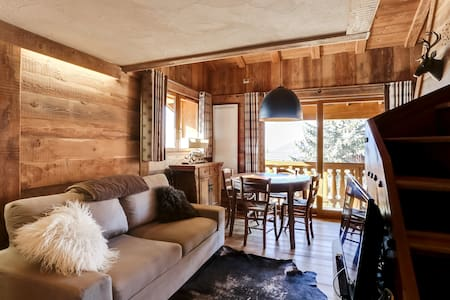 Beautiful duplex in comfortable and cozy chalet - Demi-Quartier - Wohnung
