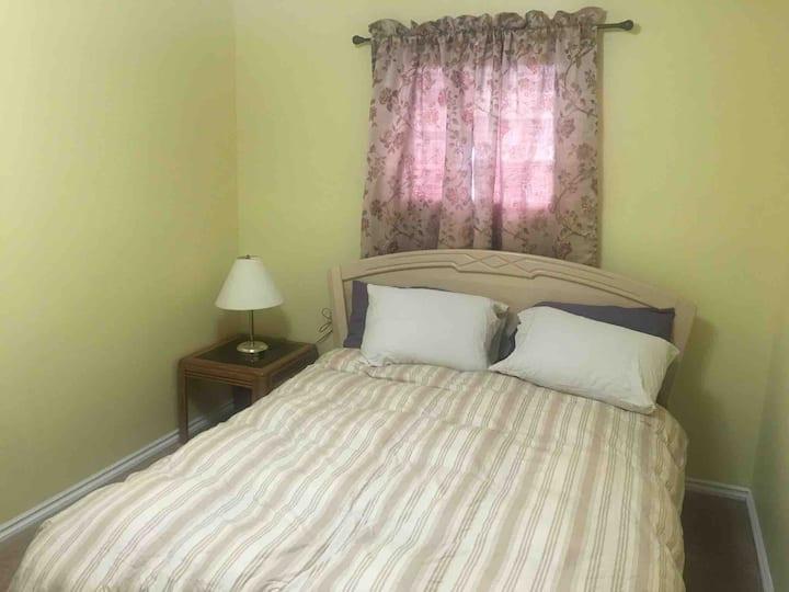 1 bedroom furnished.