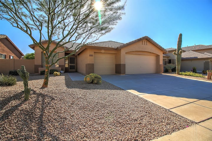 N Scottsdale-Heated Pool, 3 BR- Sleeps 8,Grayhawk