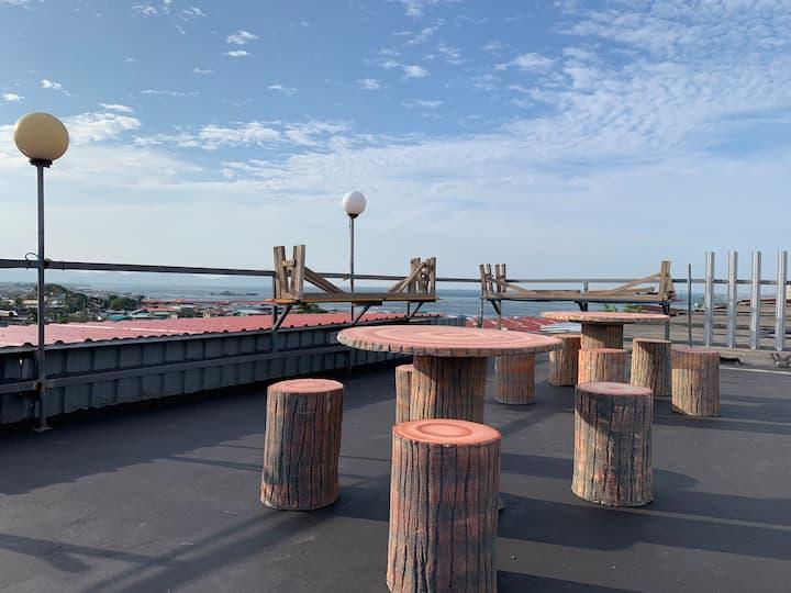 小竹林 M栋 bamboo homestay 全套五间房间 步行码头只需十分钟