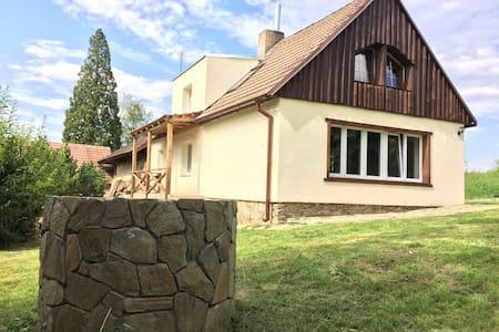 NA SAMOTĚ U LESA (v soukromí 25 min Český Krumlov)