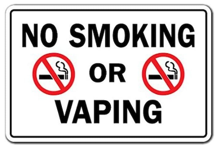 You might get fined.... NO SMOKING/VAPING inside the unit, we may file a complain with AirBnB should this rule be broken... On the other hand, by City Ordinance NO SMOKING in all public places in Metro Manila
