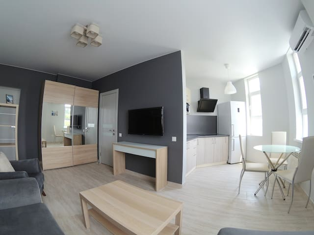 Апартаменты-студио в Адлере