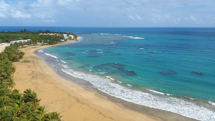 Beachfront apt / Playa azul 1