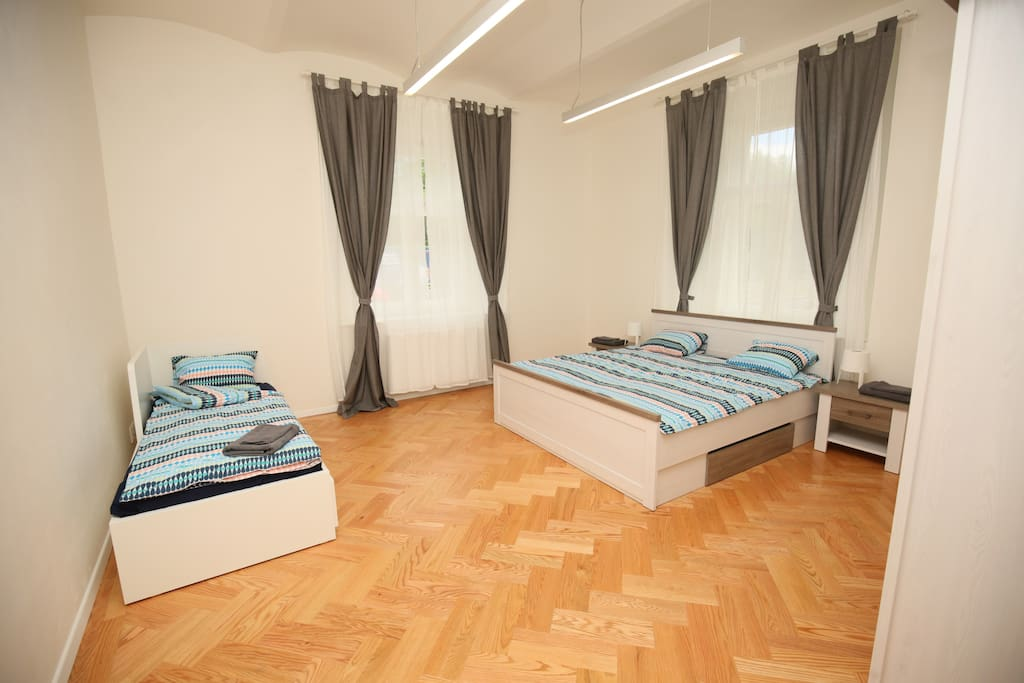 Bedroom 1 for max 4 pax