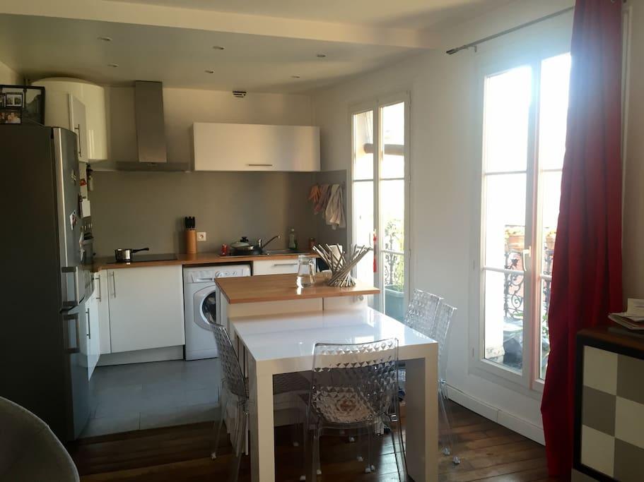 Open kitchen / cuisine ouverte