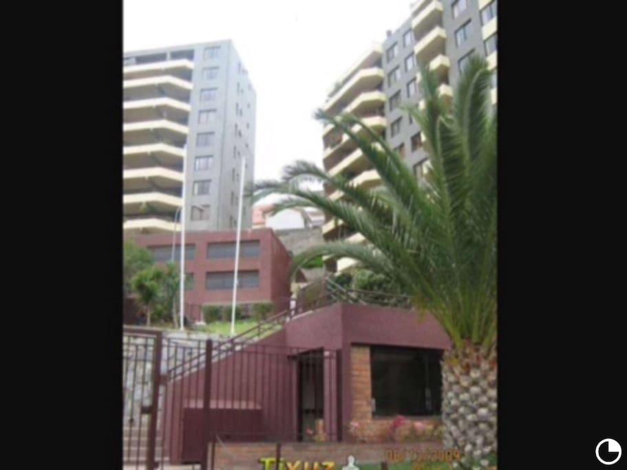 Entrance to condominium