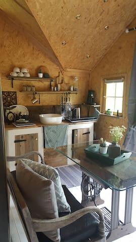 Waldhütte auf dem Listerhof