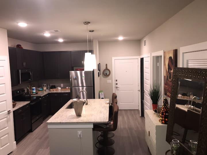 Beautiful one bedroom, one bathroom apartment