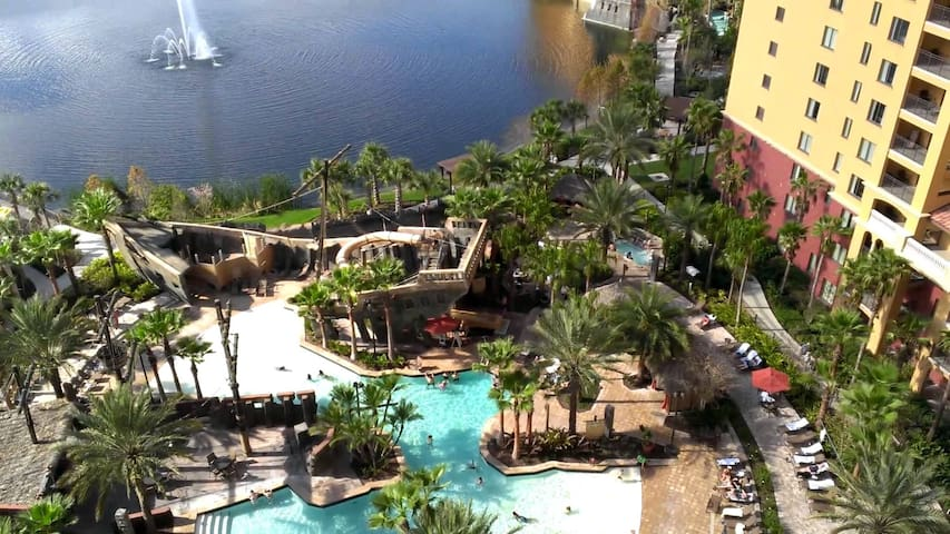 Ring in 2021 at Wyndham Bonnet Creek-2 Bedroom