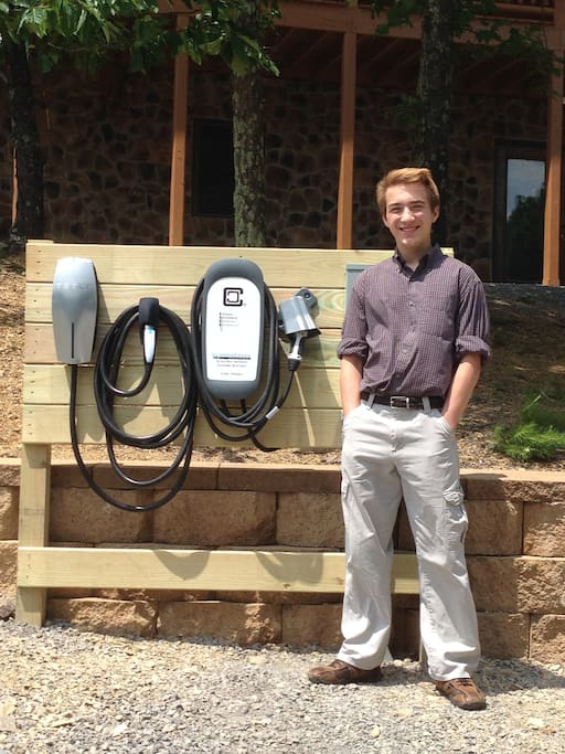Tesla and Electric Vehicle Charging Station
