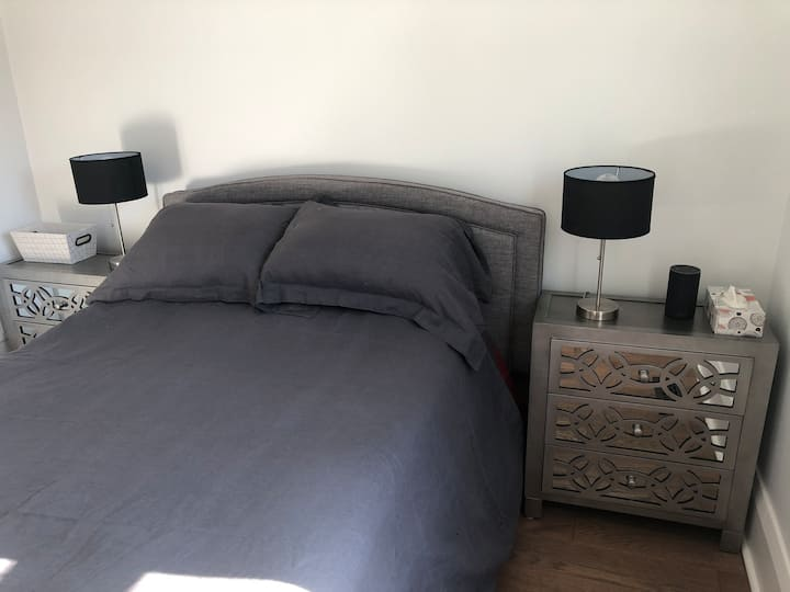 Silver Rm: Cozy Double bed 15min walk to Weston Up