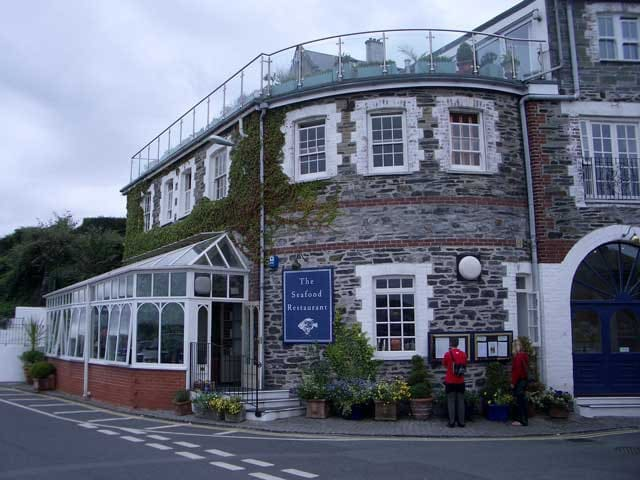 Enjoy the culinary delights of one of Rick Stein's four restaurants in nearby Padstow
