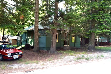 Charming Cabin in Cavanaugh Bay - Kabin