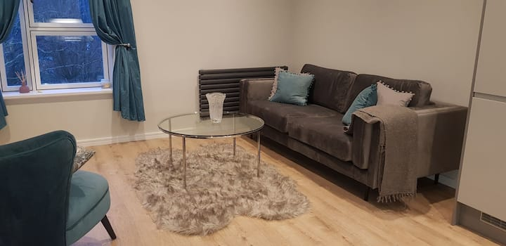 Modern one bed apartment close to the centre.