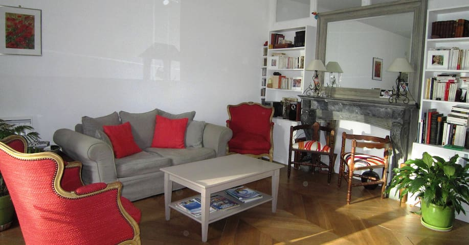 Appartement cœur du village- Terrasses- P privé - Asnières-sur-Oise - Byt