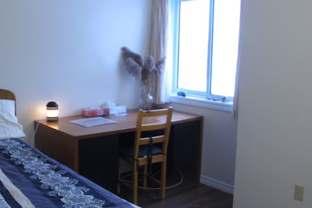 comfortable double bed room(Room C) - Kitchener