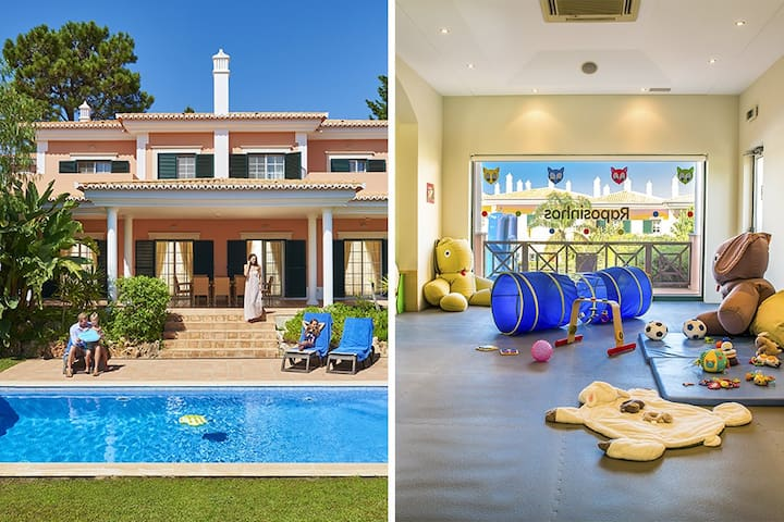 4 bedroom Villa in Quinta do Lago with pools and Kids Club