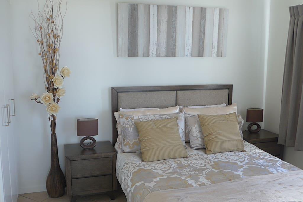 Newly Refurbished Master Bedroom