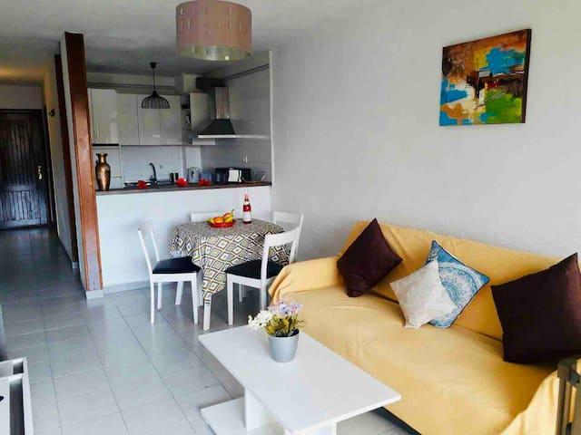 Cozy Tenerife 1 bedroom apartment city center
