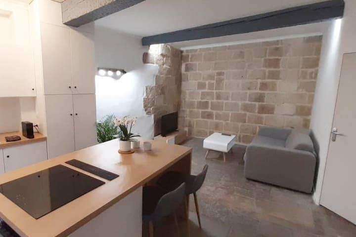 Appartement de charme au cœur de l'Écusson