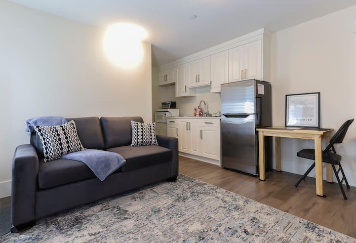 Luxury Studio Suite in South Vancouver