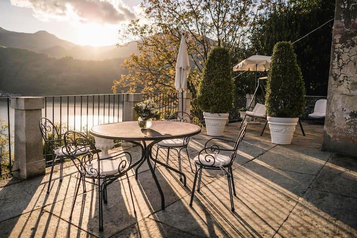 Romantic Villa Overlooking Lake Orta