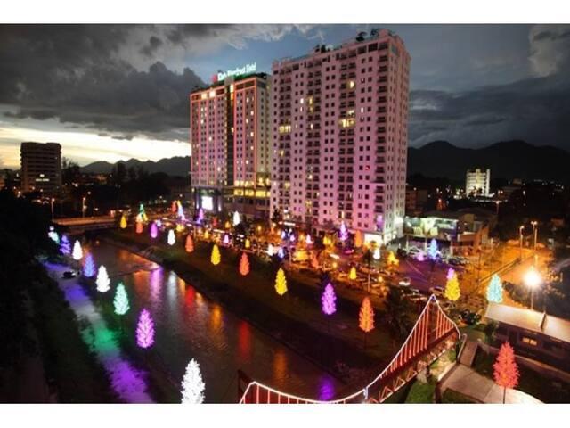 Kinta Riverfront Service Suite - Ipoh - Apartamento
