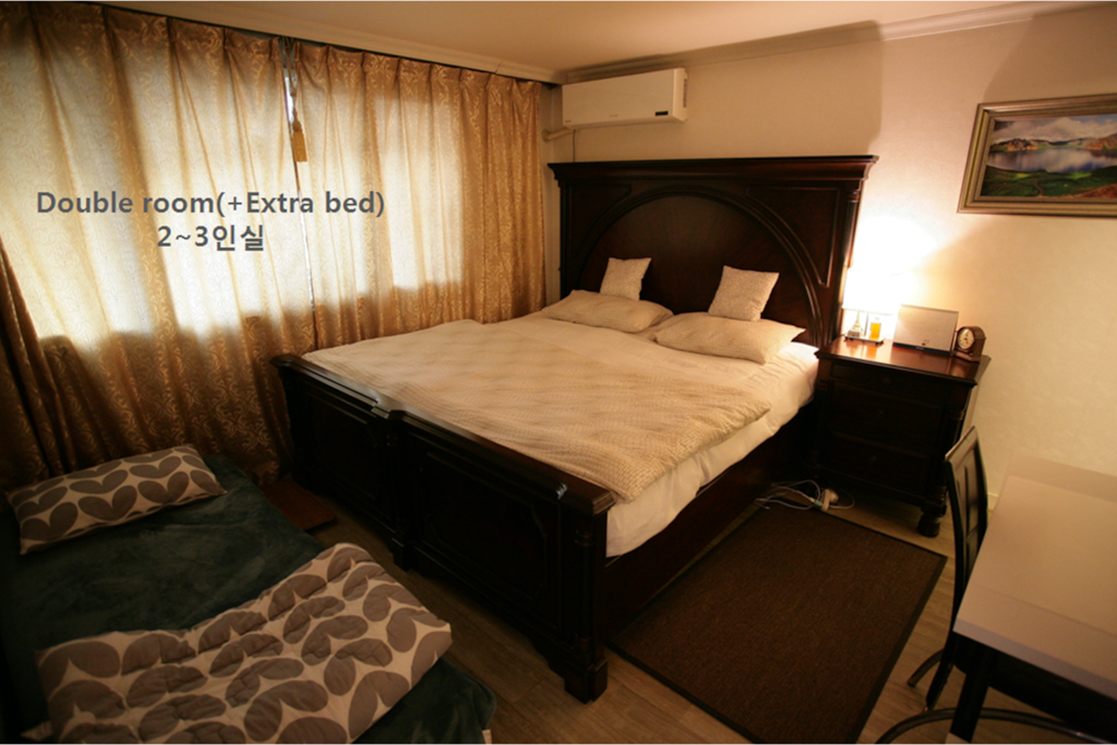 Double room(+extra bed) + 개별 욕실