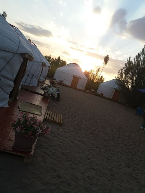 Yurt Camp Tosor Tonya